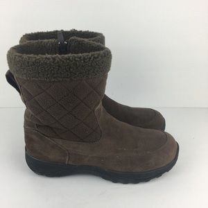L.L. Bean Brown Winter Boots 05455 Size 8.5